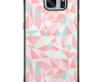 Shell Galaxy S5/S6/S7/S8 geometric 006 black edges