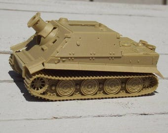 "Scale Model Panzer Mortar, Prototype ""Sturmtiger"", Military Series Cars, Heavy-Armored Vehicle Model, Scale Vehicle Model, (undecorated)"