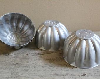 Set of 3 Jello Molds
