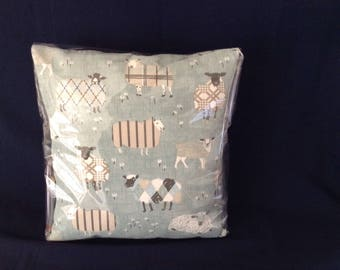 "Sheep Cushion 16""x16"""