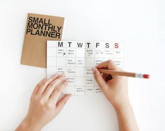 Monthly Planner [ Small ] / Diary / Journal