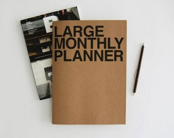 Monthly Planner [ Large ] / Diary / Journal