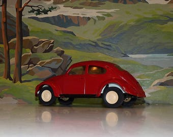 """Tonka  VW 52680 from the '70's--(likely repainted) mystery miniature car"""" included  with purchase!"""