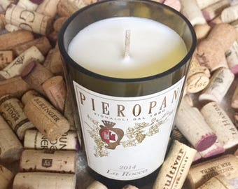 Pieropan Wine Candle