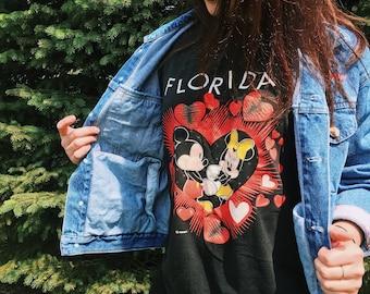 I Love FLORIDA T-Shirt // Medium: Large