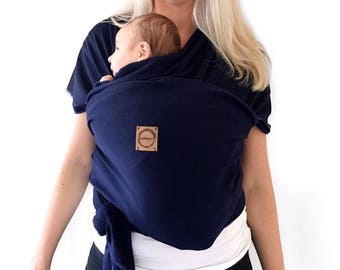 Baby wrap, Baby sling, Baby carrier. Smile baby co handstiched