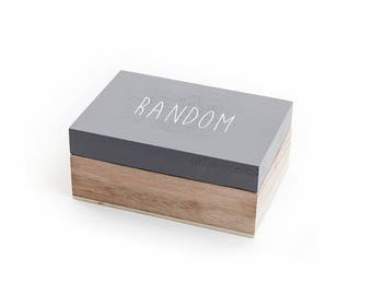 Random Wooden Box