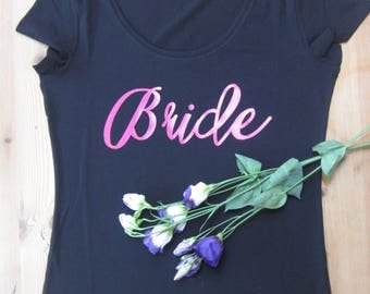 Bride's T-Shirt for Hen Party or Morning of the Wedding