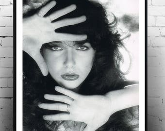 Kate Bush, Home Decor, Print, Gift, Wall Art, Photography, Music Poster,