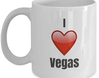 I Love Vegas, Vegas Mug, Vegas Coffee mug, Vegas gifts, Gift for Vegas, Vegas lover gift, funny Coffee mug