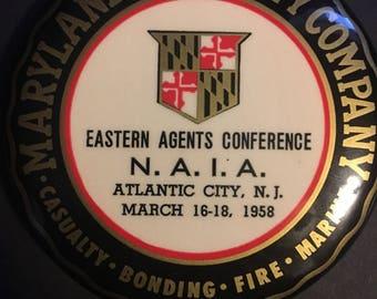 Maryland Casualty Company Mini Hand Mirror