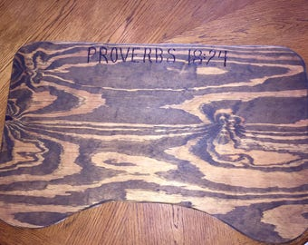 Homemade Oversized Lap board crafted with love in PapPap's Workshop