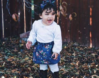 Belle Set-skirt-headwrap-baby girl-girl