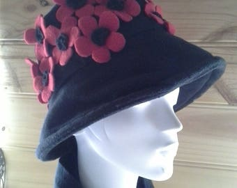 Red Poppy Hat