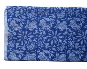 100% Cotton Handblock Printed Bedsheet