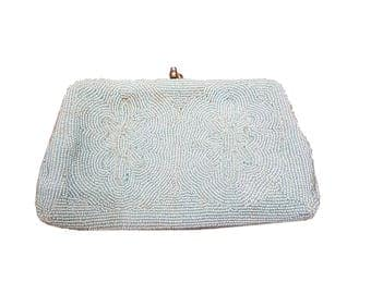 Gorgeous 1950s beaded clutch