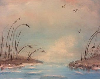 Painting of Sandy Inlet