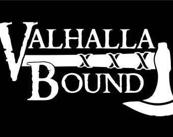 Viking Decals - Valhalla Bound