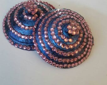 Cotton Candy Swirl - 3D Printed Pasties