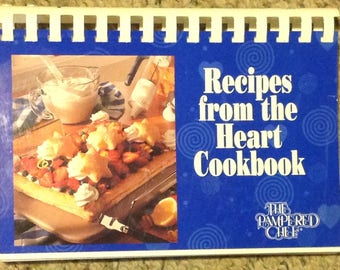 Pampered Chef, Recipes from the Heart Cookbook
