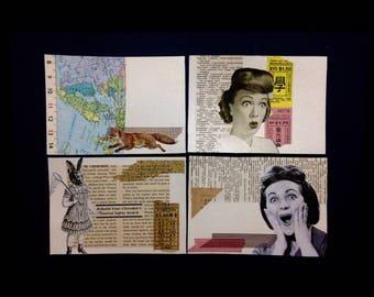 DIY Postcard Set 1: The Screaming Woman