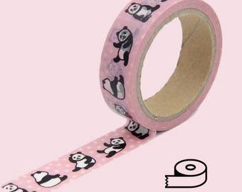 Pink Panda Washi Tape 19