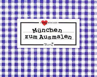 Munich coloring book