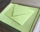 Wholesale set 50 4bar chartreuse envelope Paper Source