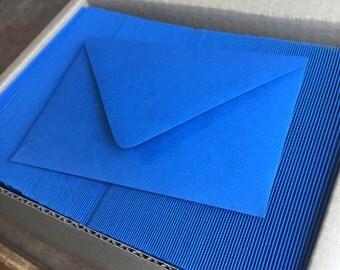 Wholesale set 50 royal blue 4bar envelope Paper Source