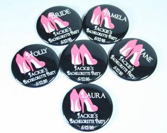 Bachelorette Party Favors Bachelorette Survival Kit Mirrors Bachelorette Survival Kit Favor High Heels Stiletto Louboutin Mirrors