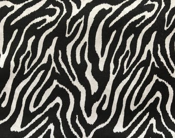 Weighted Blanket - Adult or Child - Zebra Print Animal - Choose your weight (up to 15 lbs) and minky color