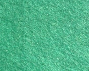 SEA GREEN Wool Blend Felt