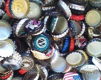 Destash bag of 500 assorted specialty beer bottle caps