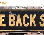 ON SALE Come Back Soon - Business Wood Sign - Rustic Hand Made Vintage Wooden Sign WWS000266