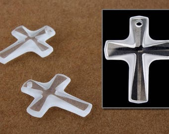 Swarovski 6860 10mm x 12mm Crystal Cross Pendant