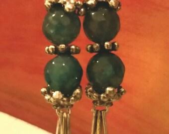 Mermaid Treasure Dangle Earrings