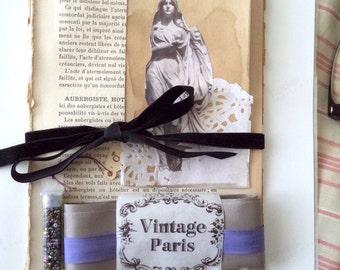Vintage Paris inspiration kit