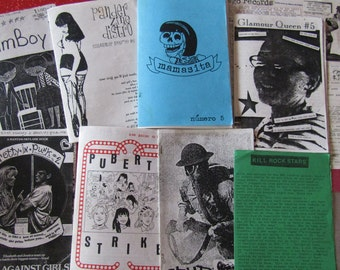 Riot Grrrl Nostalgia zine grab bag FOUR