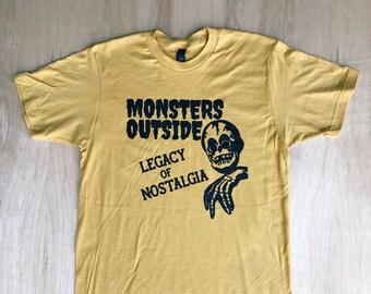 Monsters Outside Legacy Tee Shirt (Soft)