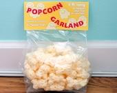 Crocheted Popcorn Garland - 6 feet