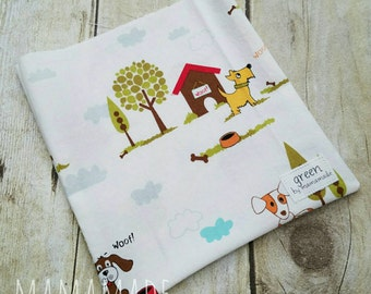 In the Dog House - Reusable Sandwich Bag | Snack Bag | Waterproof | Travel Bag from green by mamamade