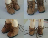 PukiPuki Boots in Middle Brown