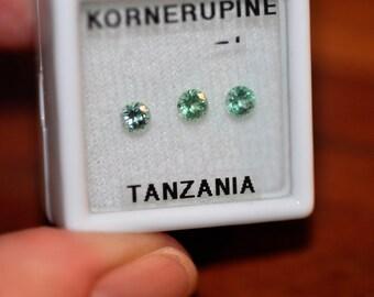 Kornerupine Round Gems  3.6mm
