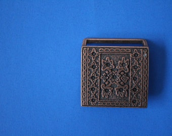 supply SQUARE detailed belt buckle