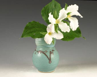 Small Flower Vase - handmade pottery