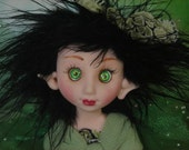 Fairy Fairies Fae pixie elf OOAK Fantasy Art Doll By Lori Schroeder 480GY