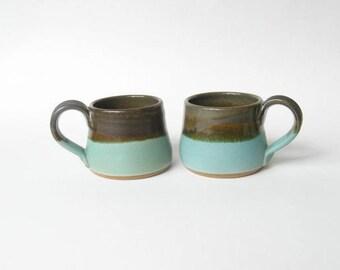 Espresso Cups Demitasse Set of 2
