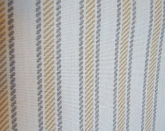 Fabric - Tritex - Tiki Stripes, Grey, Tan, Cream, Sewing, Upholstery, Pillow covers, Home Decor