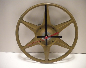 Movie Reel Clock