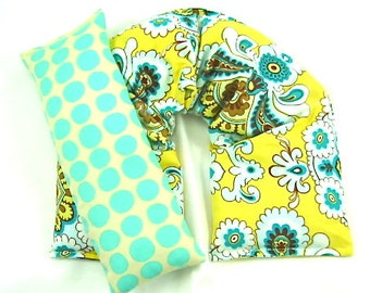 Herbal Neck Wrap, Heat Pack,Eye Pillow Set, Microwaveable,Hot/Cold Therapy, Gift Guide, Etsy Gift Guide
